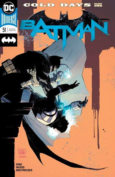 Batman Cover - 9/15/2018