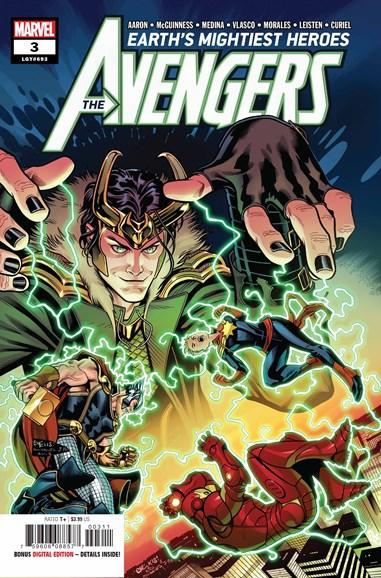 Avengers Cover - 8/1/2018