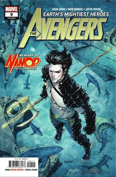Avengers Cover - 12/1/2018