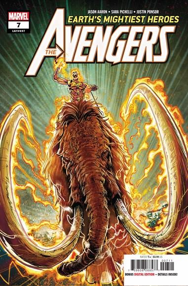 Avengers Cover - 11/1/2018