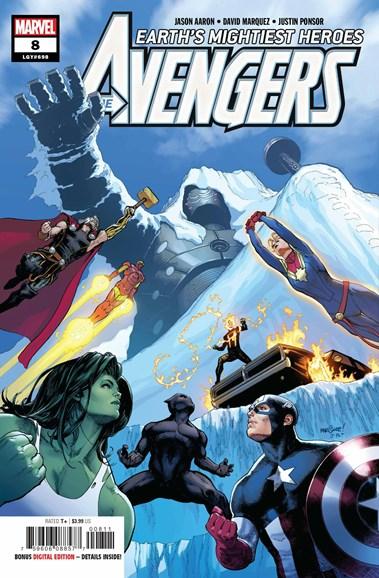 Avengers Cover - 11/15/2018