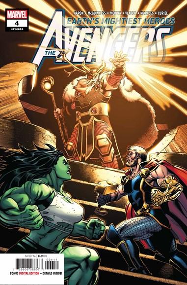 Avengers Cover - 9/1/2018