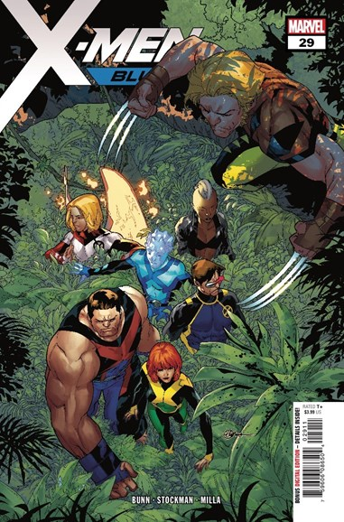 X-Men Blue Cover - 8/1/2018