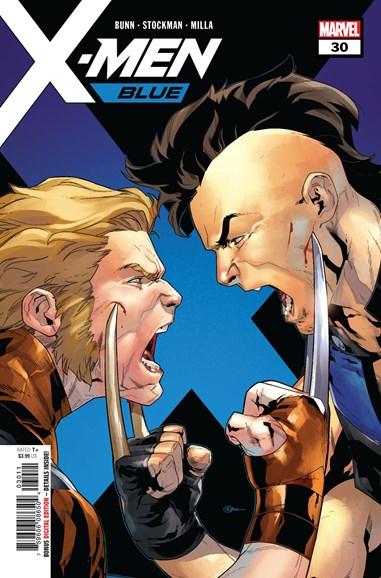 X-Men Blue Cover - 8/15/2018