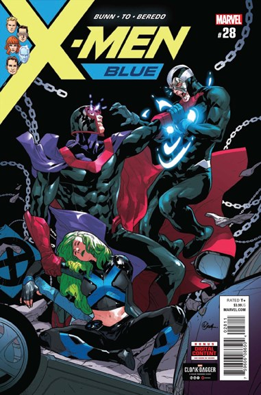 X-Men Blue Cover - 7/15/2018