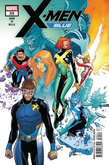 X-Men Blue Cover - 11/1/2018