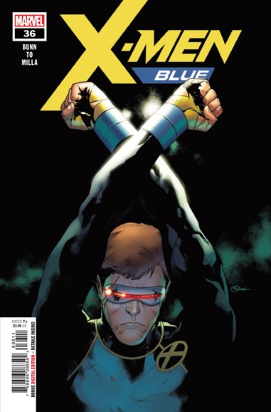 X-Men Blue Cover - 11/15/2018