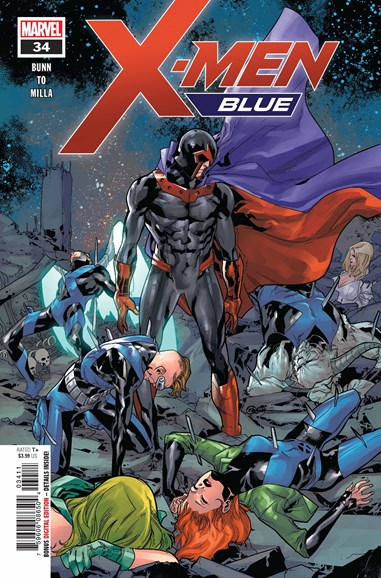 X-Men Blue Cover - 10/15/2018