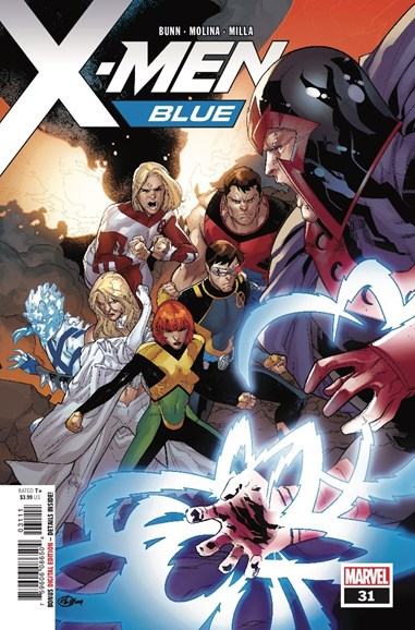 X-Men Blue Cover - 9/1/2018