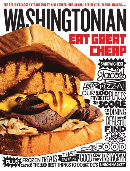 Washingtonian Cover - 8/1/2018