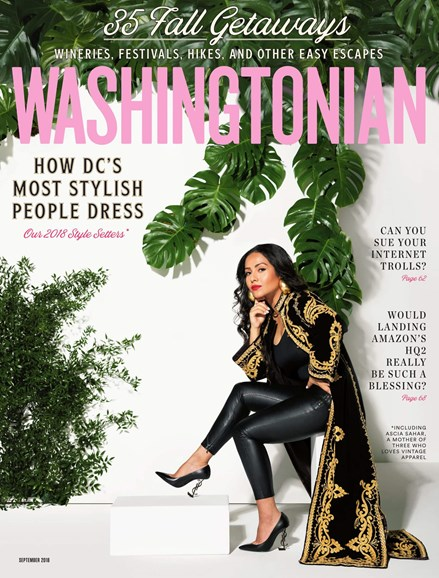 Washingtonian Cover - 9/1/2018