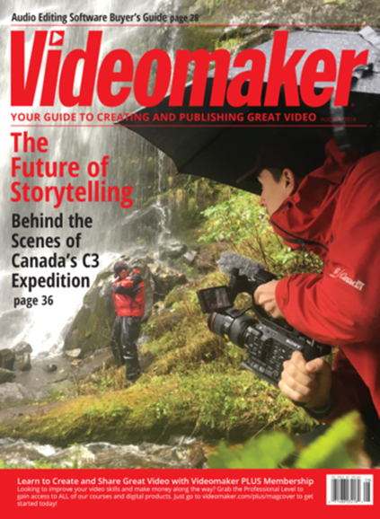 Videomaker Cover - 8/1/2018