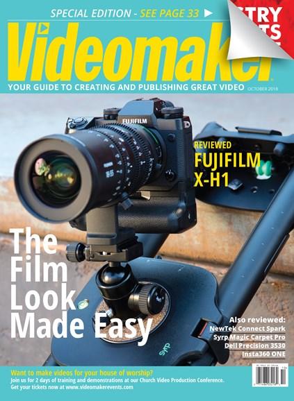 Videomaker Cover - 10/1/2018