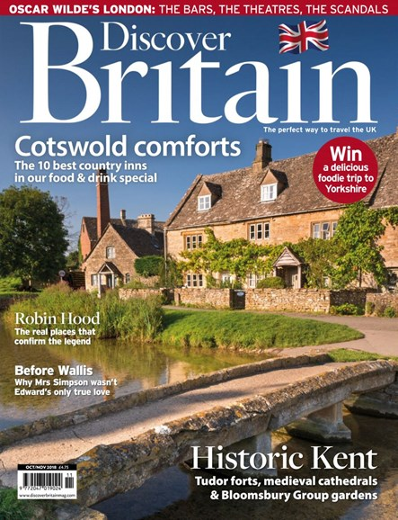Discover Britain Cover - 10/1/2018