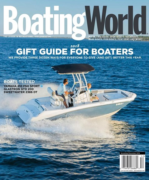 Boating World Cover - 11/1/2018