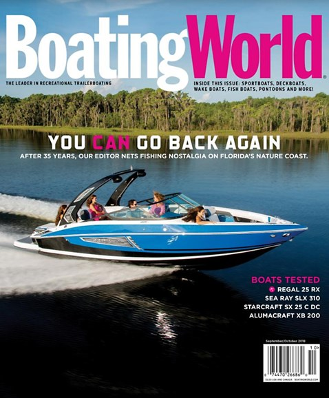 Boating World Cover - 9/1/2018