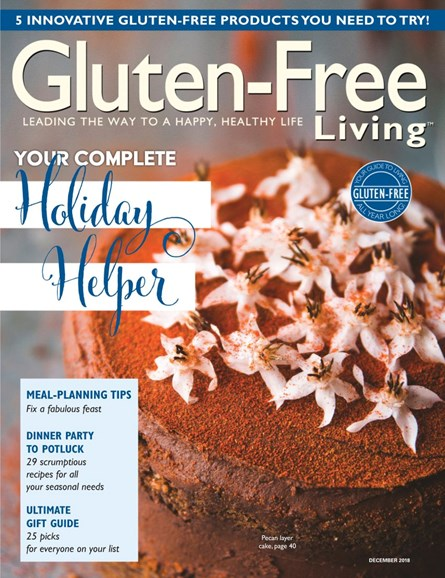 Gluten-Free Living Cover - 11/1/2018