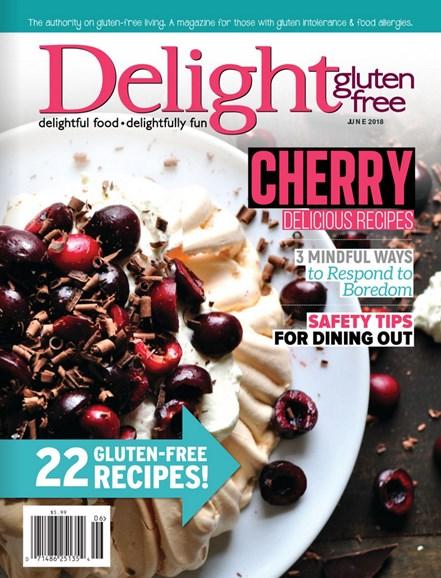 Delight Gluten Free Cover - 5/1/2018