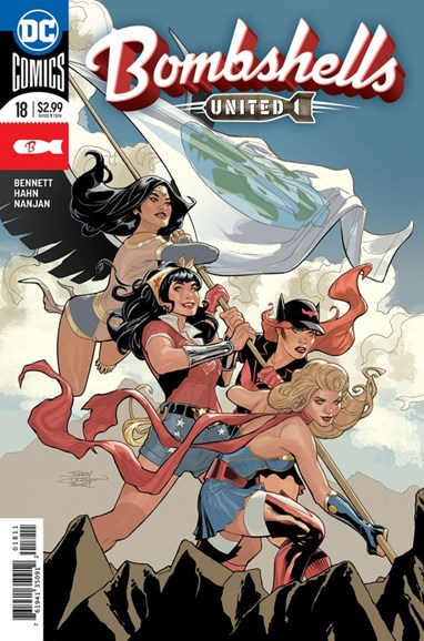 Bombshells United Cover - 7/15/2018