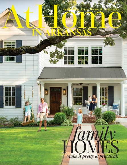 At Home In Arkansas Cover - 8/1/2018