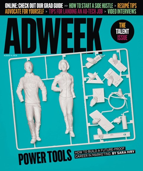 Adweek Cover - 8/6/2018