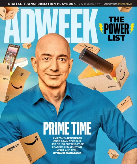 Adweek Cover - 7/23/2018