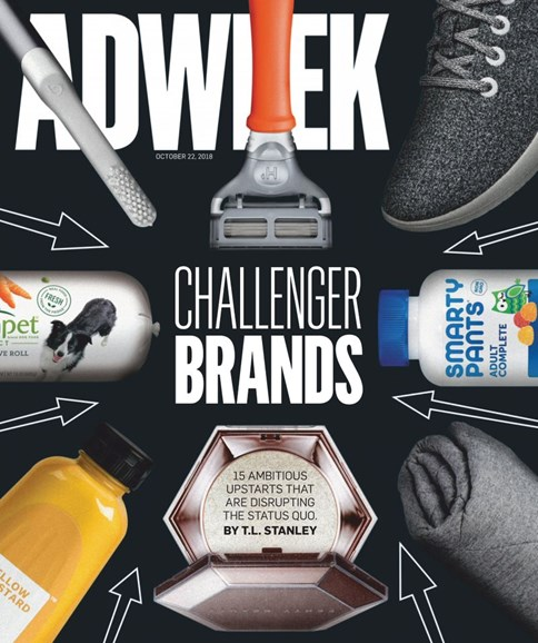 Adweek Cover - 10/22/2018