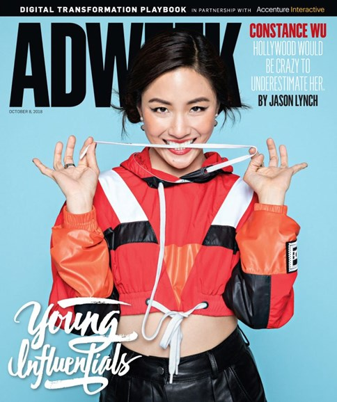Adweek Cover - 10/8/2018