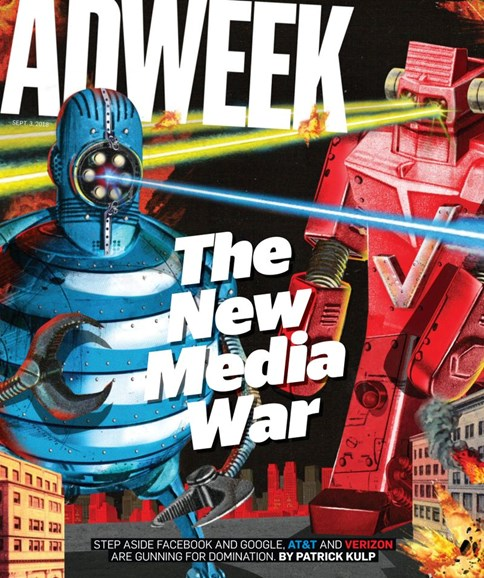 Adweek Cover - 9/3/2018