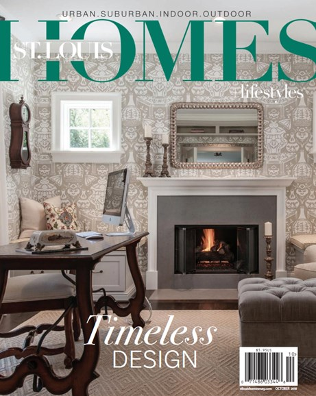 St. Louis Homes & Lifestyles Cover - 10/1/2018