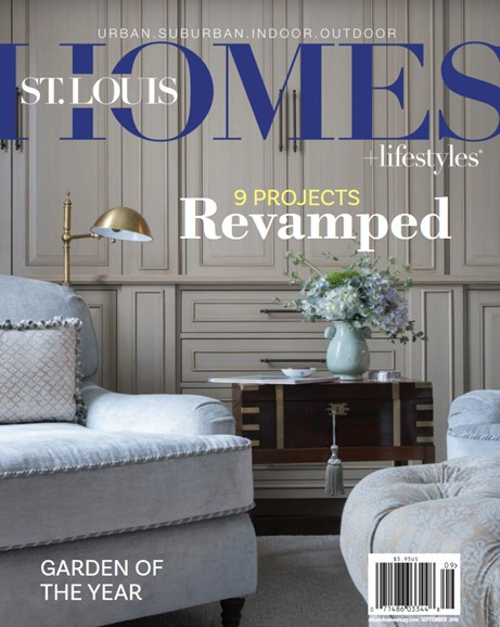 St. Louis Homes & Lifestyles Cover - 9/1/2018