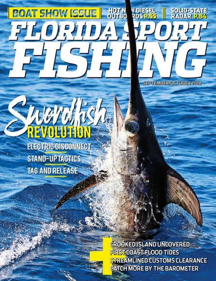 Florida Sport Fishing Cover - 9/1/2018
