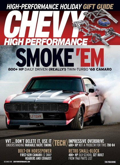 Chevy High Performance Cover - 12/1/2018