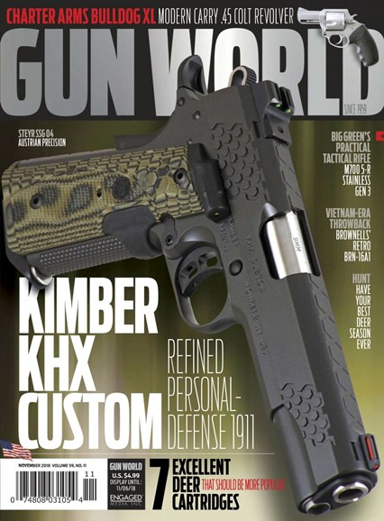Gun World Cover - 11/1/2018
