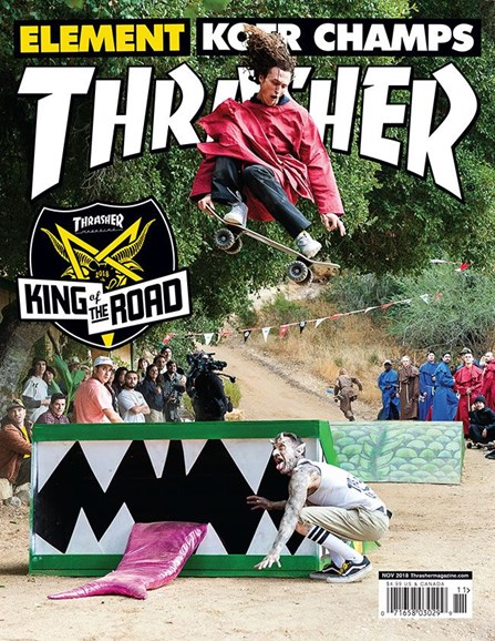 Thrasher Cover - 11/1/2018