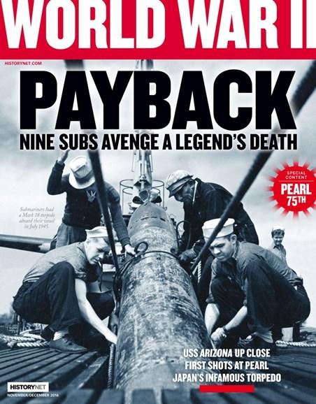 World War II Cover - 11/1/2016