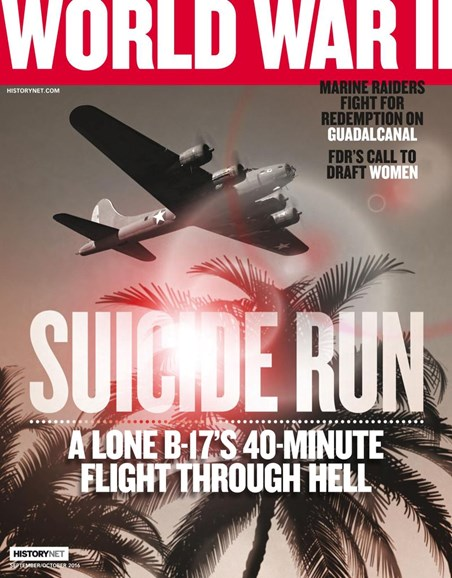 World War II Cover - 9/1/2016