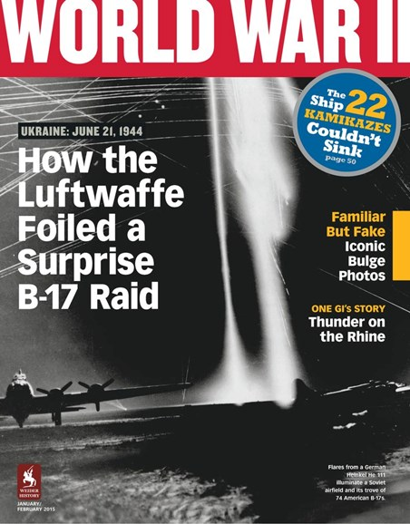 World War II Cover - 1/1/2015