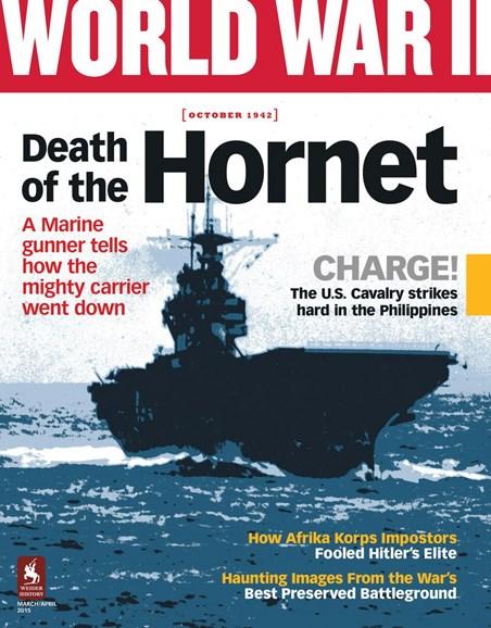 World War II Cover - 3/1/2015