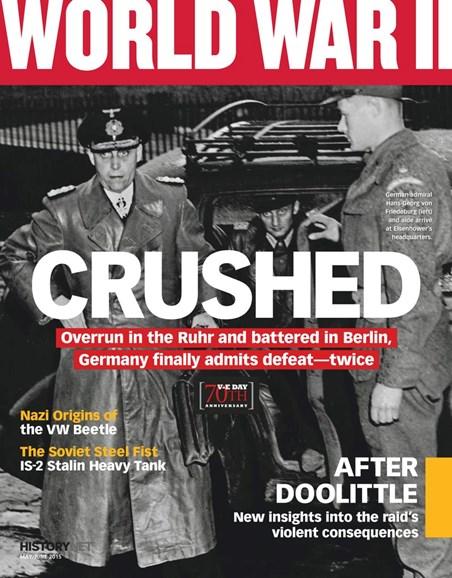 World War II Cover - 5/1/2015