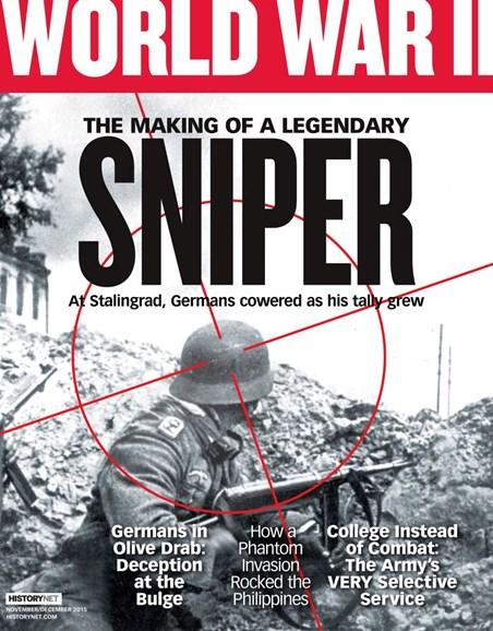 World War II Cover - 11/1/2015