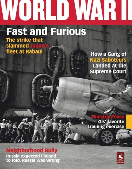 World War II Cover - 7/1/2014