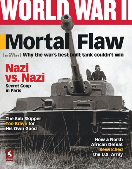 World War II Cover - 9/1/2014