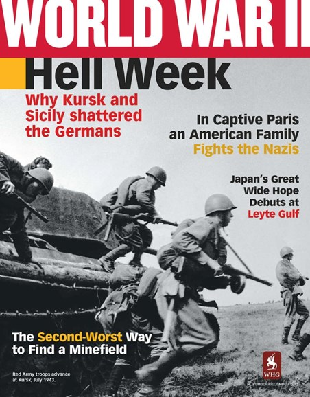 World War II Cover - 11/1/2013