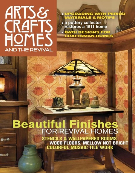 Arts & Crafts Homes Cover - 12/1/2018