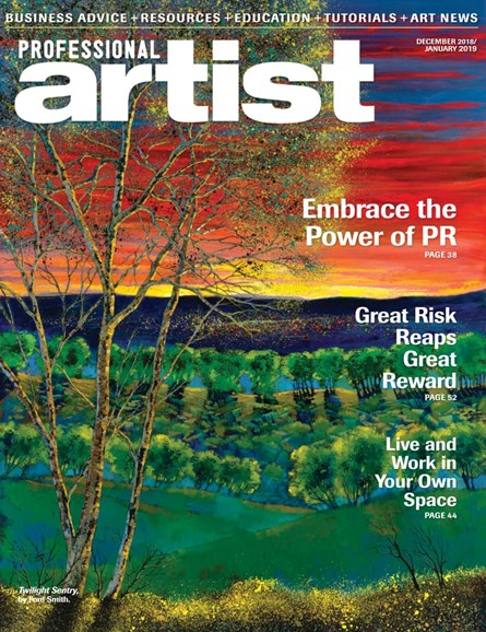Professional Artist Cover - 12/1/2018