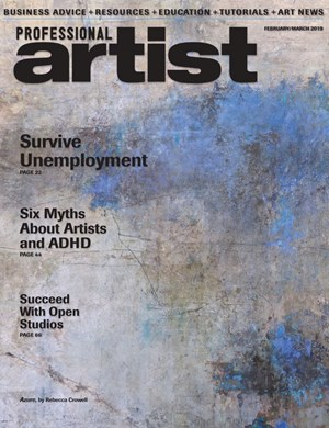 Professional Artist Magazine | 2/1/2019 Cover