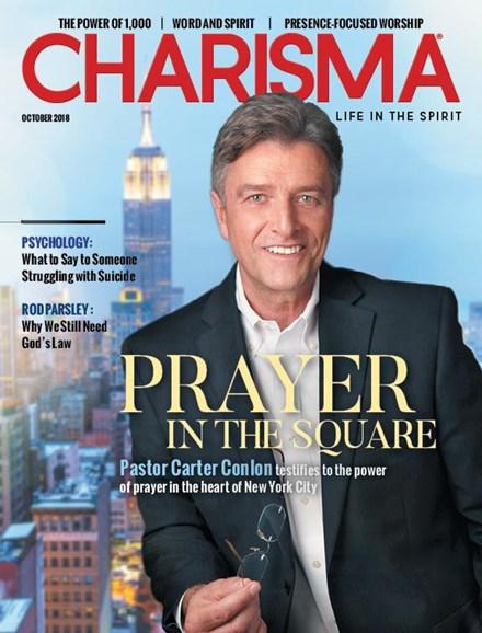 Charisma Cover - 10/1/2018