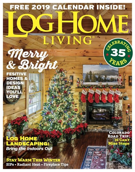 Log Home Living Cover - 12/1/2018