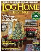 Log Home Living Magazine 12/1/2018